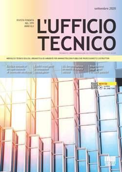 Maggioli Editore: copertina fascicolo di settembre 2020 della rivista L'Ufficio Tecnico