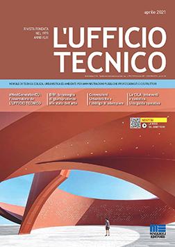 La copertina del numero 4/2021 del mensile L'Ufficio Tecnico